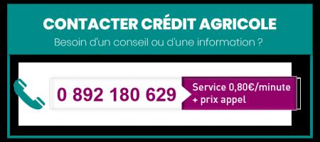 numero credit agricole