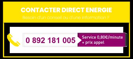 numero direct energie